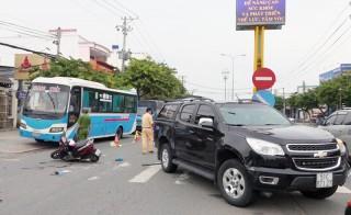 Tai nạn giao thông, hai người bị thương nặng