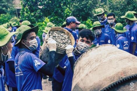 Những công trình xung kích tình nguyện