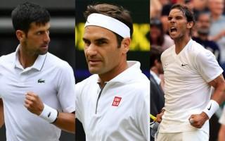 """Federer bay xa hậu Wimbledon, Nadal-Djokovic """"nóng gáy"""""""