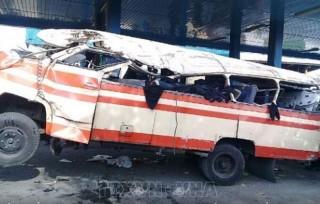 Tai nạn giao thông nghiêm trọng khiến 18 người chết ở Iran