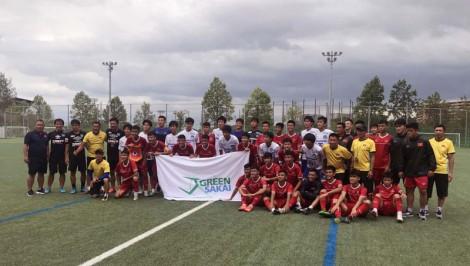 U15 Việt Nam thất thủ trước U18 Học viện Gamba Osaka
