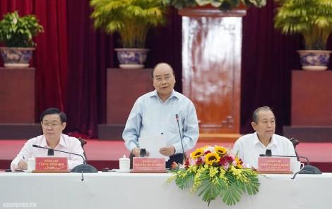 Thủ tướng chủ trì cuộc họp với các tỉnh đồng bằng sông Cửu Long và TP. Hồ Chí Minh