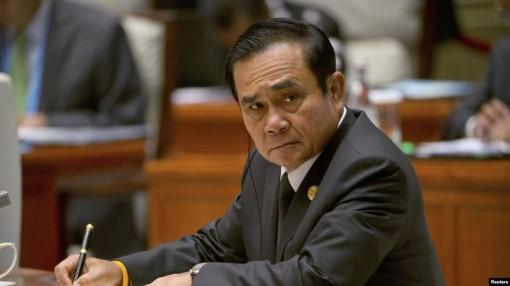 Thủ tướng Thái Lan từ chức người đứng đầu chính quyền quân sự