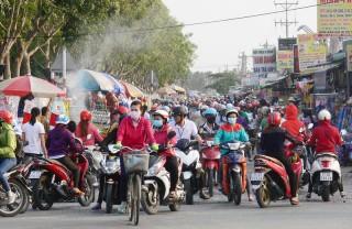 Cựu chiến binh Châu Thành tham gia giữ gìn an toàn giao thông