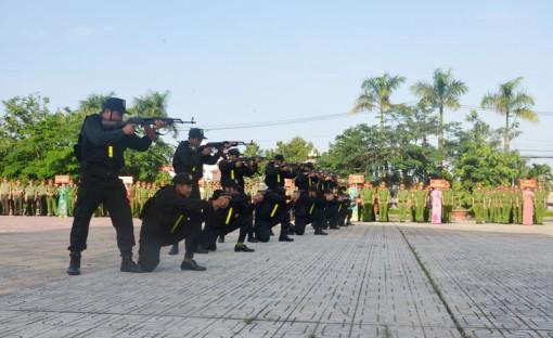 Lực lượng Cảnh sát tỉnh mưu trí, dũng cảm hoàn thành xuất sắc nhiệm vụ