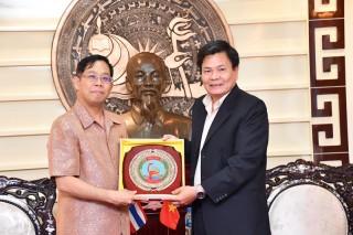 Lãnh đạo tỉnh tiếp chào xã giao Tổng lãnh sự Thái Lan