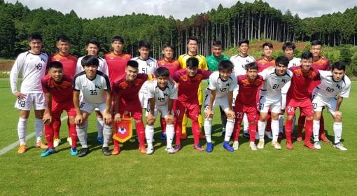 U18 Việt Nam gây ấn tượng mạnh trong chuyến tập huấn Nhật Bản