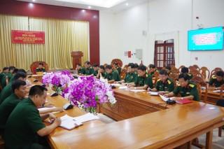 """Tập huấn Đề án """"Quân đội phòng chống diễn biến hòa bình"""""""