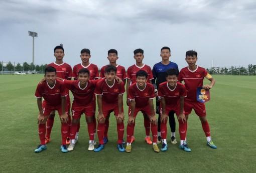 Đội tuyển Trường THPT Kokoku đánh bại  đội tuyển U15 Việt Nam 3-1