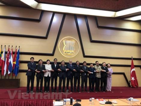 ASEAN-Thổ Nhĩ Kỳ thống nhất danh mục lĩnh vực hợp tác ưu tiên đến 2023