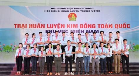 Tổng kết Trại huấn luyện Kim Đồng toàn quốc khu vực phía Nam