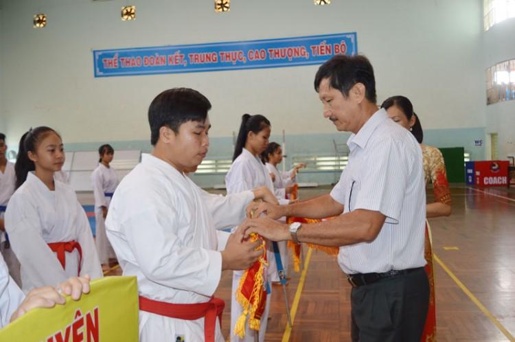 Gần 150 vận động viên tham gia Giải Karate các câu lạc bộ tỉnh năm 2019