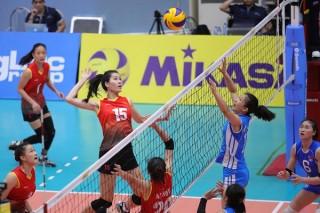 U23 Việt Nam không vào chung kết giải bóng chuyền nữ châu Á