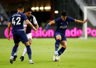 ICC Cup: Juventus thua Tottenham 2-3