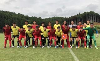 U18 Việt Nam giành chiến thắng trước tuyển sinh viên Trường Đại học Sanno