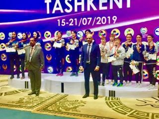 Việt Nam giành 3 HCĐ tại Giải vô địch Karatedo châu Á Taskent