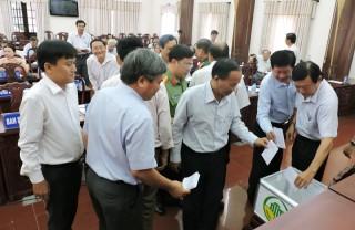 Bỏ phiếu công nhận 8 xã đạt chuẩn nông thôn mới