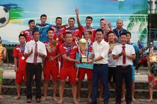 Khánh Hòa vô địch bóng đá bãi biển Quốc gia