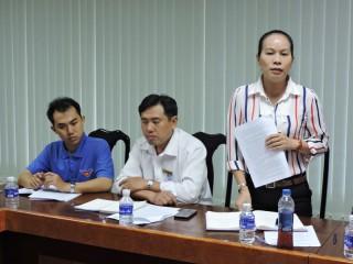 MTTQ Việt Nam tỉnh họp dư luận xã hội tháng 7-2019