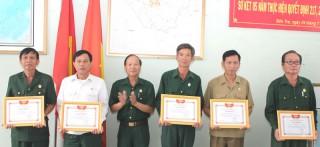 Hội Cựu chiến binh tỉnh sơ kết 5 năm phối hợp tham gia giám sát, phản biện xã hội và xây dựng chính quyền
