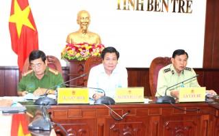 Hội nghị trực tuyến toàn quốc về phòng, chống tội phạm và chống buôn lậu, gian lận thương mại, hàng giả