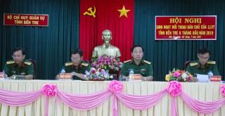 Bộ Chỉ huy Quân sự tỉnh tổ chức đối thoại dân chủ với cán bộ, chiến sĩ