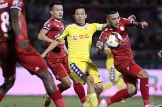Vòng 18 V.League 2019:  TP. Hồ Chí Minh gỡ hòa phút 90+7