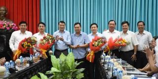 Thống đốc Ngân hàng Nhà nước Việt Nam làm việc tại tỉnh