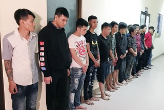 Ngăn chặn 2 nhóm thanh niên  hỗn chiến ở Mỏ Cày Bắc