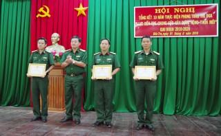 """Tổng kết phong trào """"Lực lượng vũ trang Bến Tre chung sức xây dựng nông thôn mới"""""""