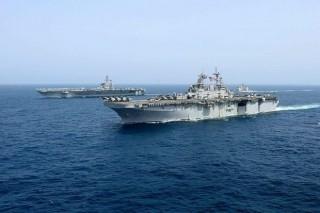 Indonesia và Mỹ diễn tập hải quân chung tại tỉnh Đông Java