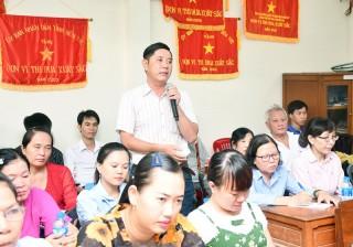 Ý kiến cử tri sau Kỳ họp thứ 11, HĐND tỉnh khóa IX