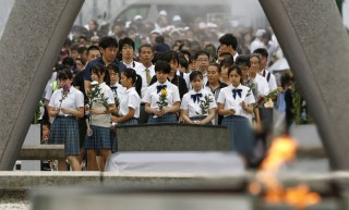Nhật Bản tưởng niệm 74 năm ngày Mỹ ném bom xuống Hiroshima
