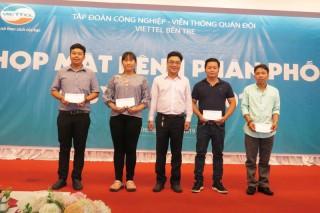 Viettel Bến Tre họp mặt kênh phân phối quý II-2019