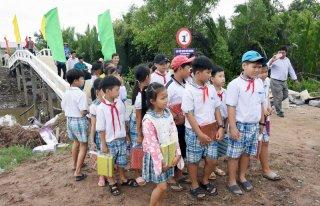 Thạnh Phong huy động nguồn lực xây dựng giao thông nông thôn