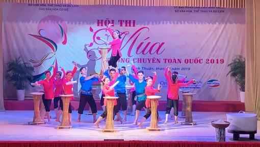 Bến Tre đạt 3 huy chương Bạc tại Hội thi Múa không chuyên toàn quốc năm 2019