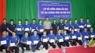 Bế giảng lớp bồi dưỡng hướng dẫn viên thể dục Aerobic nâng cao