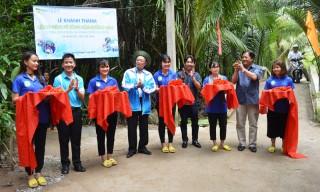 Khánh thành các công trình tình nguyện tại xã Minh Đức và Tân Trung