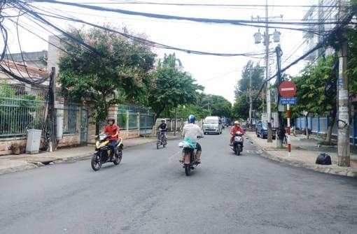 Chấn chỉnh tình trạng đi ngược chiều tại 2 tuyến đường Trần Quốc Tuấn và 30-4