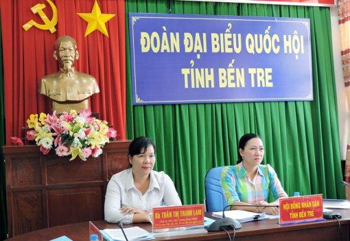 Đại biểu Quốc hội đơn vị tỉnh tham gia phiên chất vấn, trả lời chất vấn của Ủy ban Thường vụ Quốc hội