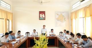 HĐND tỉnh giám sát chính sách hỗ trợ doanh nghiệp tại huyện Ba Tri