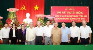 Kỷ niệm 70 năm thành lập ngành Tuyên giáo tỉnh