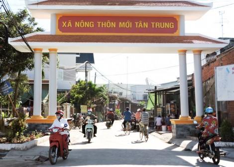 Tân Trung về đích xã nông thôn mới