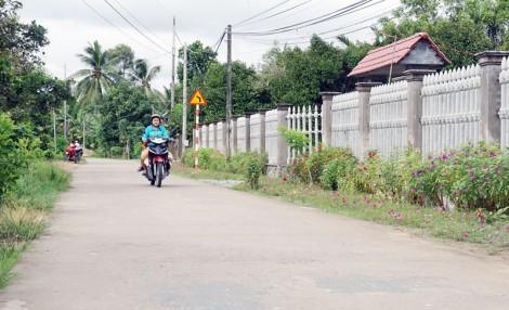 Hưng Khánh Trung B xây dựng thành công xã nông thôn mới