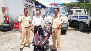 Phòng Cảnh sát giao thông trả xe bị mất trộm cho chủ sở hữu