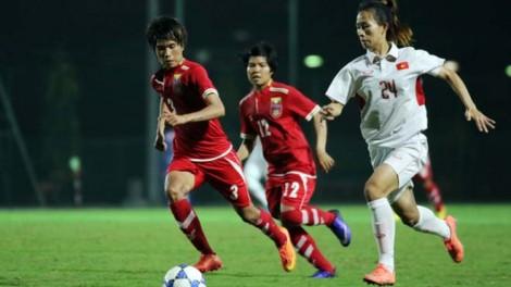 Bảng B AFF Cup nữ 2019:  Việt Nam mưa bàn thắng vào lưới Campuchia