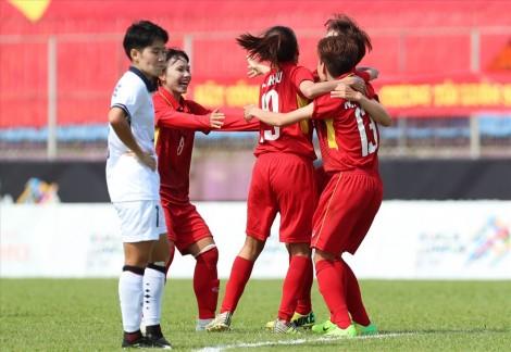 AFF Cup 2019: Đánh bại nữ Indonesia, nữ Việt Nam vào bán kết