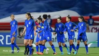 AFF Cup nữ 2019: Thái Lan tạm đứng đầu bảng A