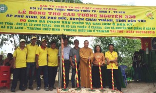 Phú Đức khởi công xây cầu Cồn Dơi kinh phí 2,3 tỷ đồng