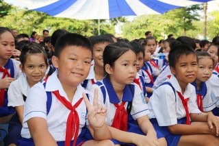 Chuẩn bị lễ khai giảng năm học mới 2019-2020